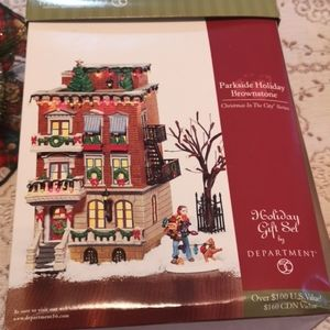 Parkside Holiday Brownstone Department 56